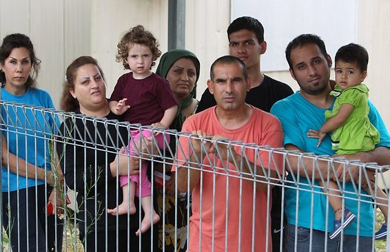 Christmas Island detainees