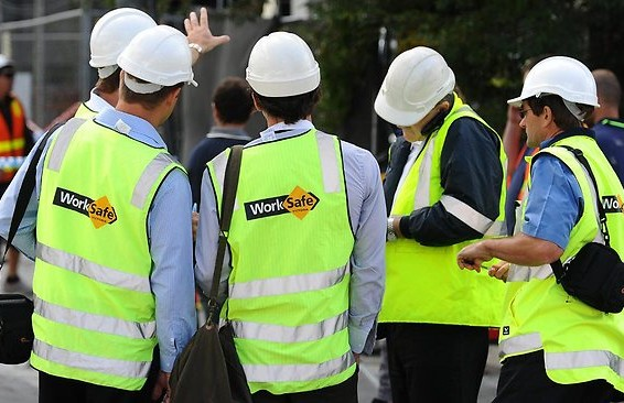 Worksafe inspectors